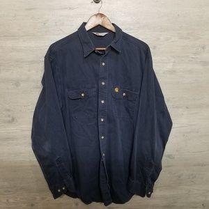 Vintage Carhartt Button Down Shirt. AMAZING! RARE!